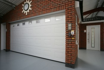 Decorative garage door