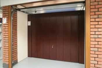 Open roller door