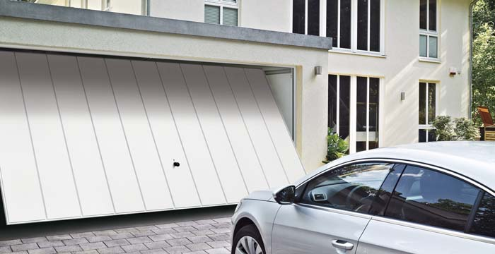 hormann battery operated garage door