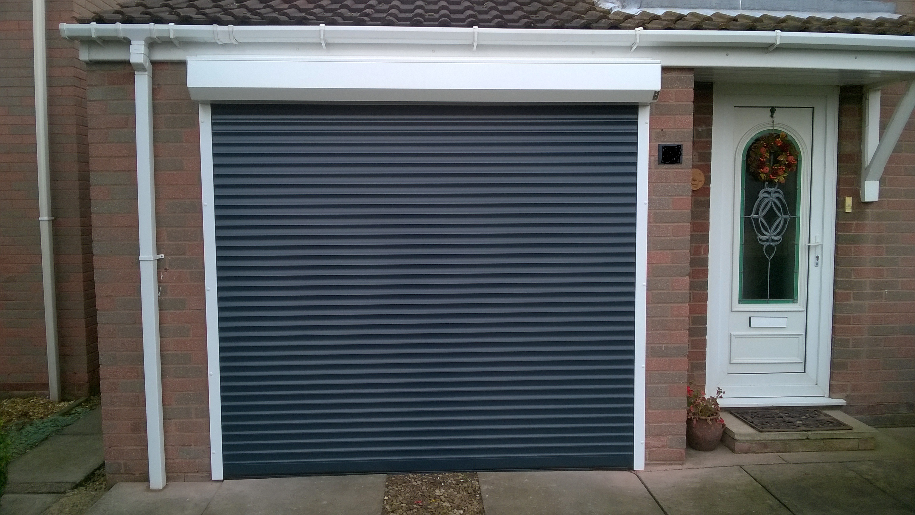 External Fitted Roller Doors Mansfield Garage Doors