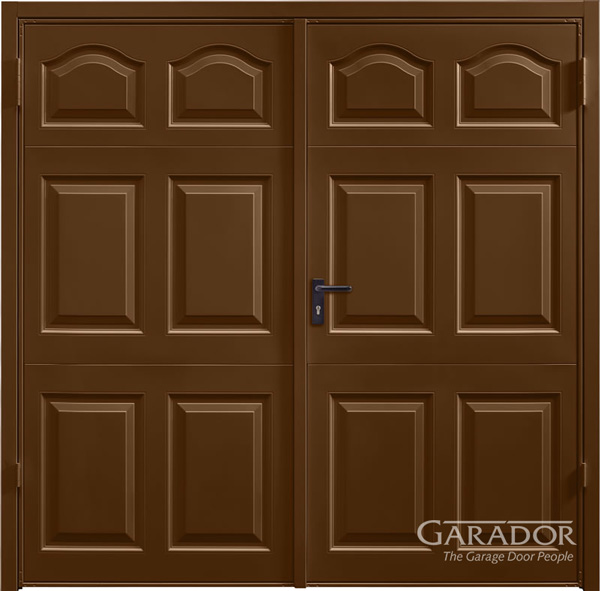 swing door_cathedral_terra-brown