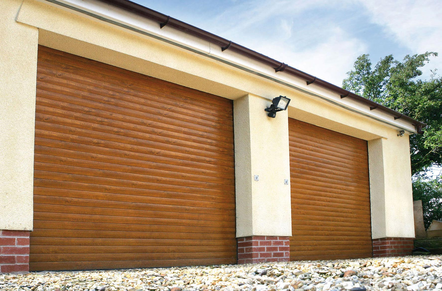 1168 #7B4921 We Are Pleased With The Door And The Workmanship Of Your Engineers It  image Garage Doors Company 35831775