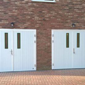 Ryterna insulated side-hinged garage doors